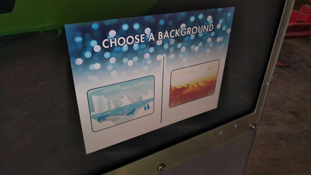 Green-screen Background Chooser