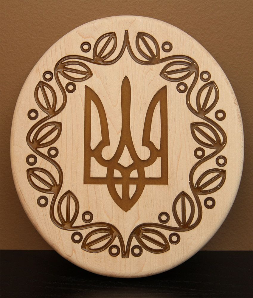 Cultural Carving with Inlay