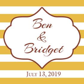 Ben and Bridget - July 13th, 2019