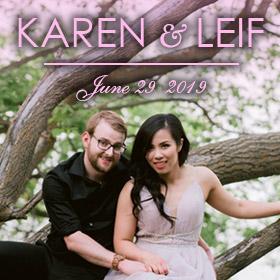 Karen and Leif - June 29th, 2019