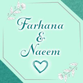 Farhana and Naeem – August 3rd, 2019