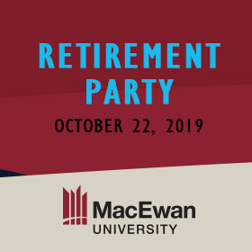 MacEwan Office of the Registrar Retirement Party 2019