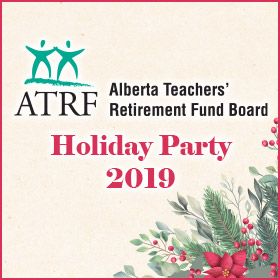 Alberta Teachers Retirement Fund 2019 Holiday Party