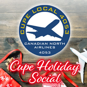CUPE 4053 Holiday Social 2019