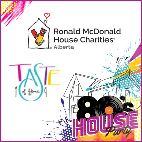 RMHC Alberta – Taste of Home Gala – 80s House Party
