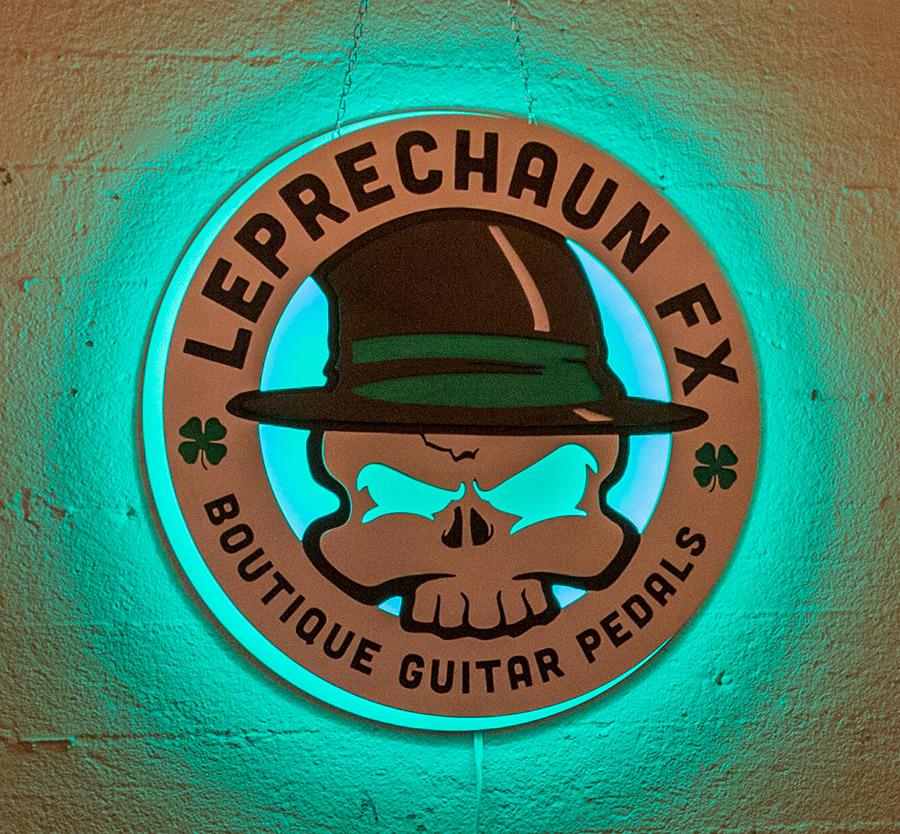 LeprechaunFX Custom Signage with LED Back-light