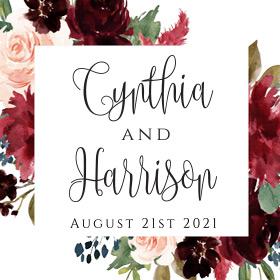 Cynthia & Harrison's Wedding
